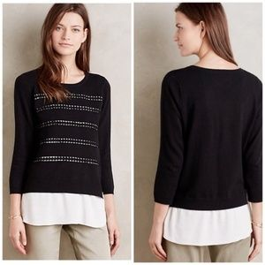 Anthopologie Angel of the North Dovie Sweater